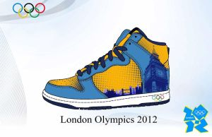 London Olympics Sneakers by danielboveportillo