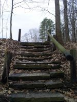 Squires Stairs by KiwiRose-Stock