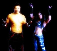 Melina and the Miz Graphic by verusImmortalis