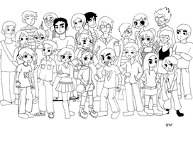 Scott Pilgrim x The World by happybutterfly