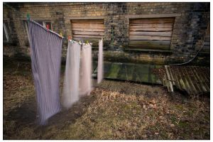 Drying loundry by billysphoto