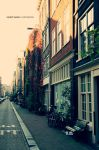 Amsterdam Streets by Cromium