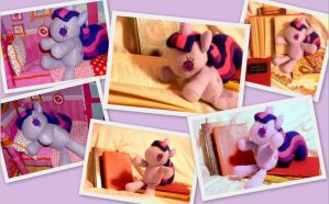 Twilight Sparkle Filly Plush My Little Pony FiM by sakihrumino