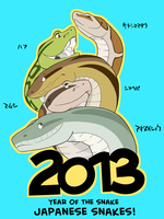 Year of the snake by ukabor