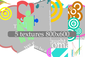 5 textures by revallsay