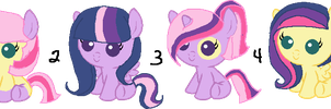 Twilight X Flutters Foals (CLOSED) by Arianstar