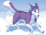 Snow Time by silvermoonfox