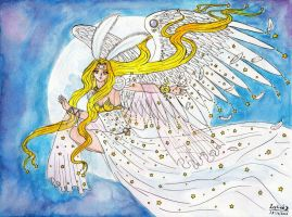 Serenitatis, Full Moon Angel by Zephind