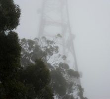 Tower in the mist 1 by Random007