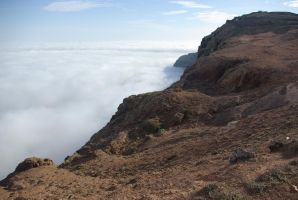 Sea of clouds in Lanzarote by l0b0estepari0