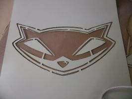 Sly Cooper Stencil by TheSuperiorSpiderMew