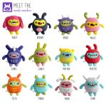 Plush Monchi Monsters by yumcha