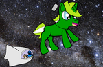 Thebronyshow challenge 37: Space by JFPierre
