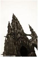 Scott Monument by ValkAngie