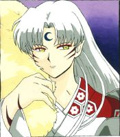 Sesshomaru for Tanya by kikoro