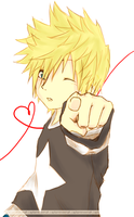 Happy Valentines Day, Roxas by captainkneenah