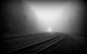 Ghost Train by Nathan-Ruby