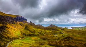 Quiriang View, Isle of Skye, Scotland by Raiden316