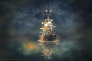 night sail by evenliu