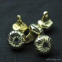 Bronze buttons from medieval Russia by Sulislaw