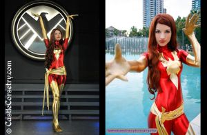 Dark Phoenix by CastleCorsetry