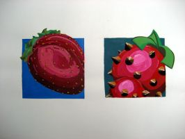 Strawberry abstraction by jKendrick