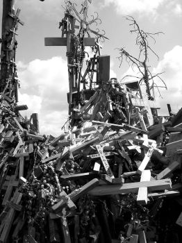 The Hill of Crosses by aussiecookie