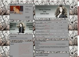 Celine Dion for MySpace 1 by musicalcat