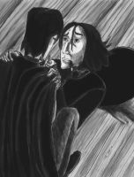 Severus Snapes last breath by mirisima