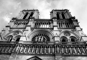 Notre Dame in Paris by sothiss76