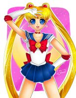 Sailor Moon by Lennal
