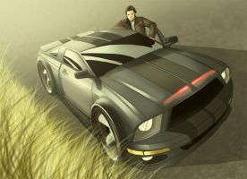 New Knight Rider by agent-F