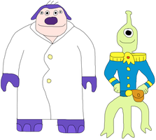 SuperTime-Earth Jumba and Pleakley by jacobyel