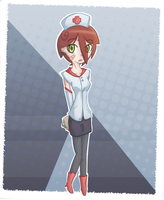 Diminutive Nurse by ShadowStarry