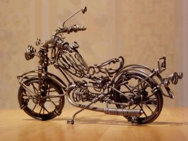motorcycle by anatolto