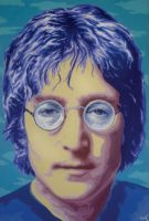 Lennon by cfigat