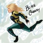 Black Canary by Cristina37