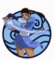 Water bender-Katara by Itygirl