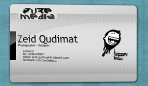 New business card by zeidroid