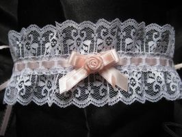 Maid Lace Choker by mad-hatter-inc