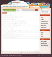 Webmaster Marketplace Template by mediarays