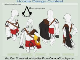 Auditore Hoodie by Afriana