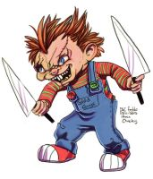 Daily Sketches Chucky by fedde