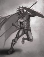 Jav Man by BurningBrushGallery