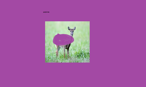 Purple doe by XxYearremixxX