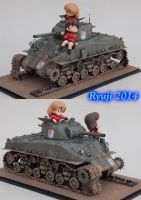 Revell Sherman 01 by celsoryuji