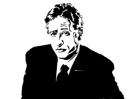 John Stewart Upcoming Stencil by Pavement-Chameleon