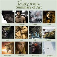 2012 Art Summary by forstyy