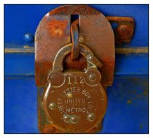 Postal box lock.L1020702, with story by harrietsfriend