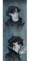 Sherlock in the dreich by enolianslave